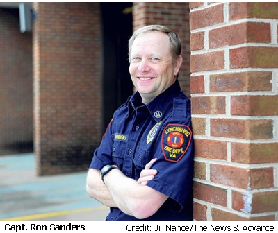 Captain Ron Sanders, Firefighter